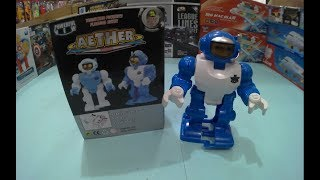 ROBOT TOBOT AETHER MOON Unboxing toys for kids