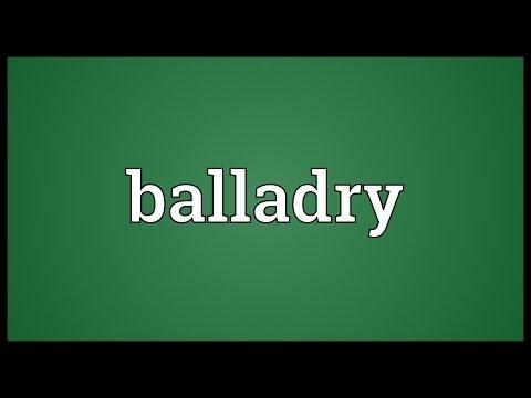 Header of balladry