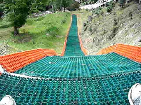 Summer tubing Woodbury Ski area.avi