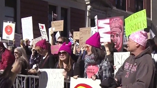 Not my President's Day: Anti-Trump protests sweep major US cities