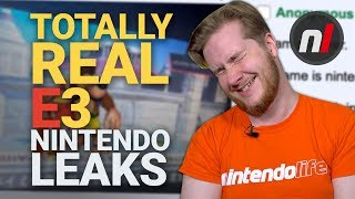 Nintendo E3 2019 Leaks that Are Obviously Real Because They're from 4chan