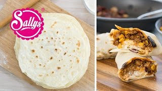 Weizentortillas Grundrezept / Wraps / Basic Rezept