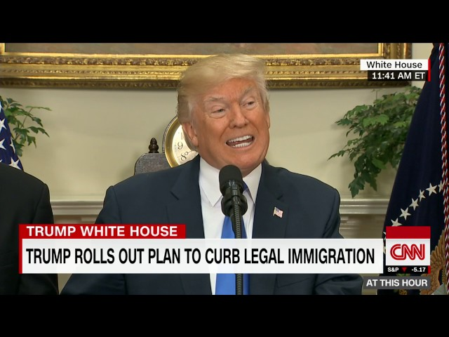President Trump rolls out merit-based immigration system