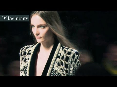 Balmain Fall 2012 Show at Paris Fashion Week ft Daria Strokous | hosted by Hofit Golan | FashionTV