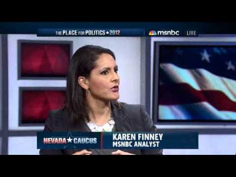 MSNBC on Ron Paul appealing to young voters 2/5/12