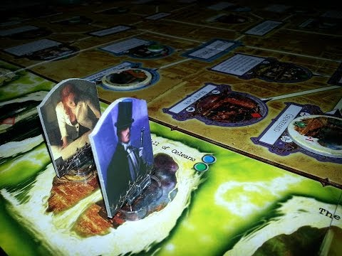 Off The Shelf Board Game Reviews Presents - Arkham Horror (part 2 Sample Game)