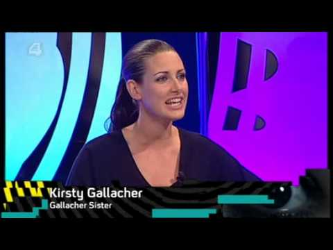 Kirsty Gallacher - extremely short skirt