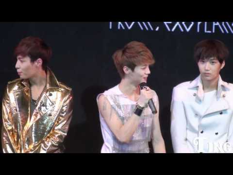 [FANCAM] 120401 - EXO Showcase Talk (Luhan 2)