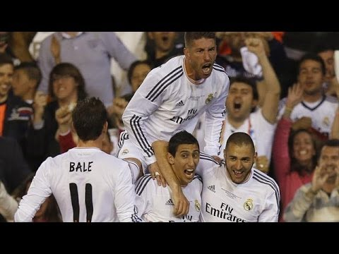 Amazing Panna from Benzema to Ineista final cup