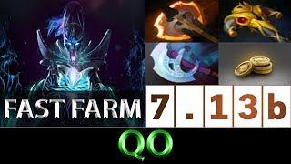 QO [PA] Fast Farm High Ranked Gameplay ► Dota 2 7.13b