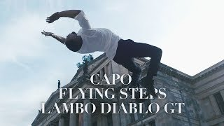 CAPO - Lambo Diablo GT ft. Nimo x FLYING STEPS Lil Amok, Petair, Anna, Wilfried in Berlin | YAKFILMS