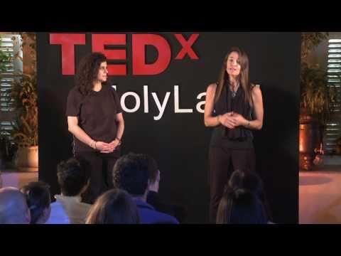 TEDxHolyLand - Hanan Kattan & Liat Aaronson Opening Talks