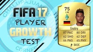 FIFA 17   Serge Gnabry   Growth Test + Gameplay