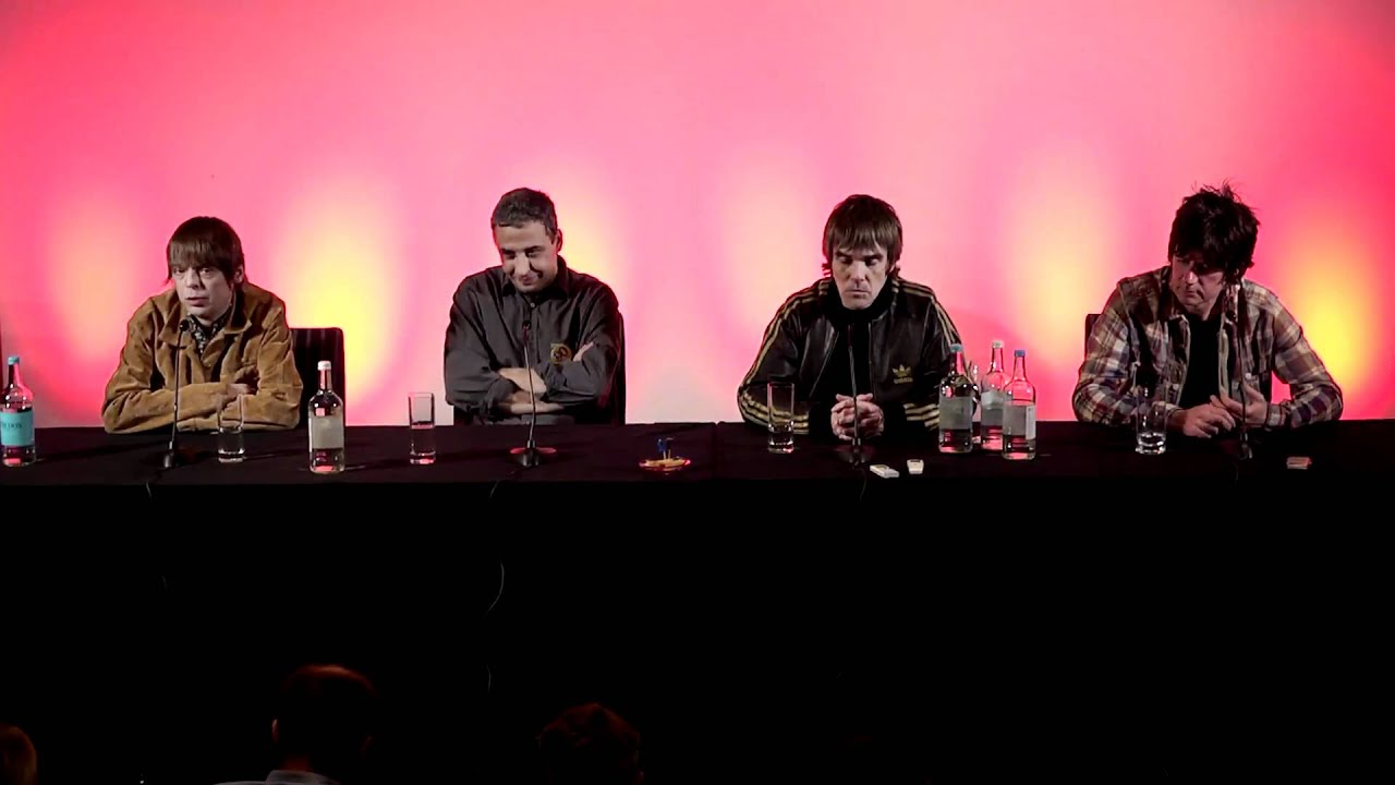 Stone Roses Reunion Press Conference The Stone Roses Press
