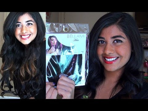 My NEW Hair Extensions: Bellami Hair Review & Demo!