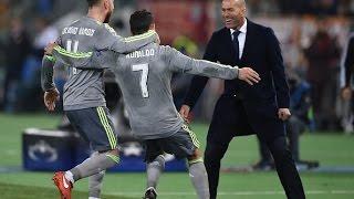 Gol Cristiano Ronaldo vs Roma [HD] COPE | 17/02/2016