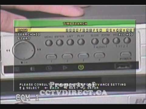 AvTech 4CH H.264 DVR Tutorial - PLAYBACK