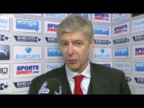 Newcastle 0-1 Arsenal - Arsene Wenger (29-12-13)