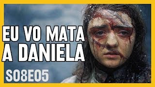 Game of Thrones 8x05 | QUEIMA, QUENGARAL!!! | Análise Completa GoT