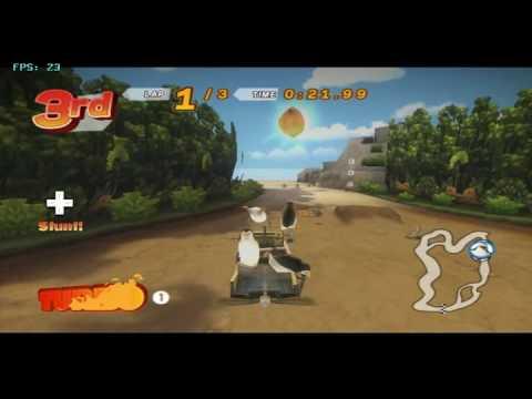 Madagascar Kartz on Dolphin SVN R 5046 - Nintendo Wii Emulator