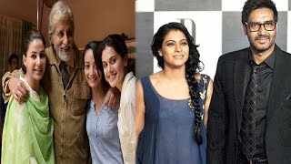 Amitabh Holds A Screening Of 'Pink' | Kajol Goes All Out To Support Ajay's 'Shivaay'