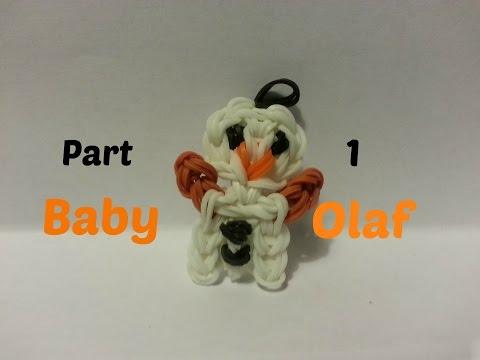 Rainbow Loom - Baby Olaf Part 1