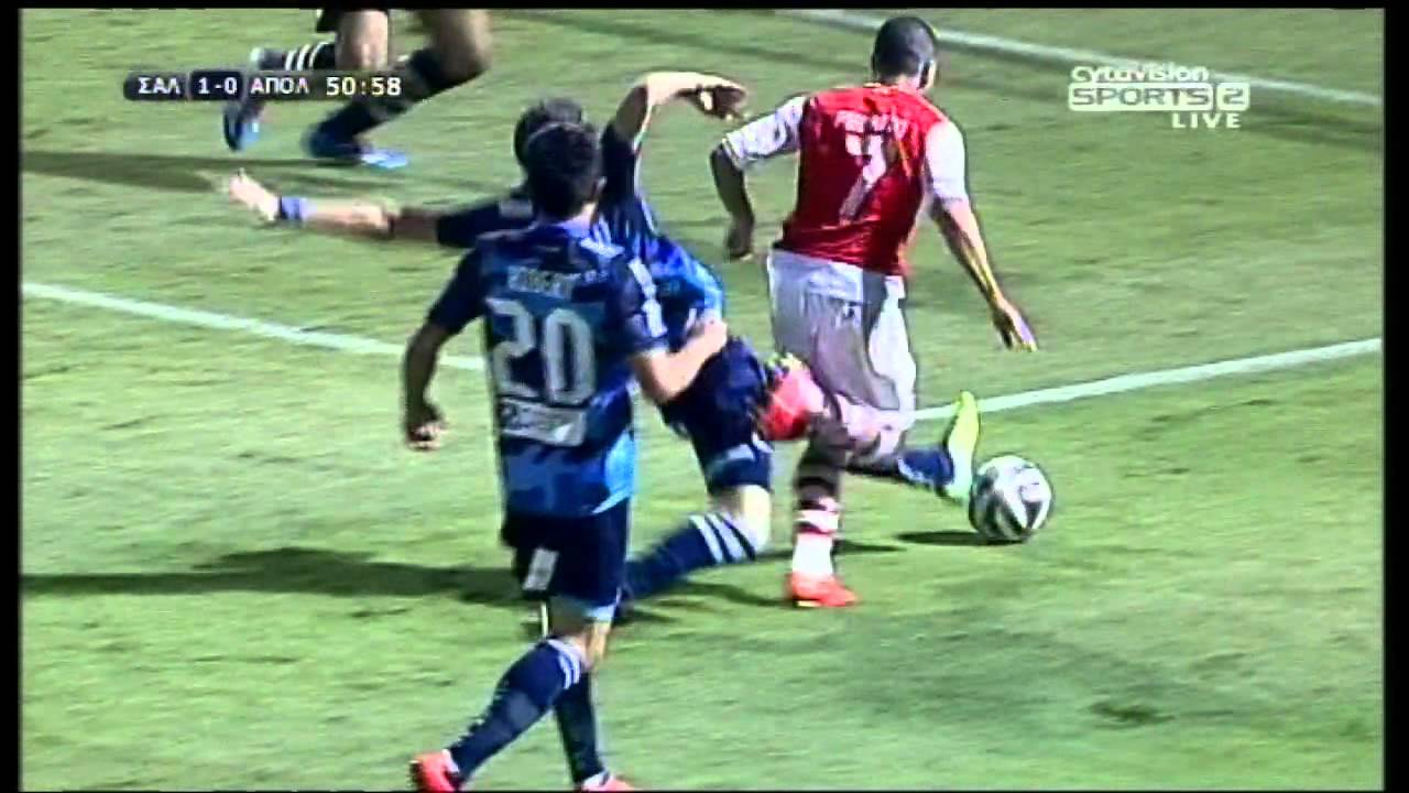 Nea Salamis 4-0 Apollon Limassol FC