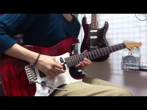 【進撃の巨人OP】紅蓮の弓矢 (Guitar Inst ver. )弾いてみた。by みゅー