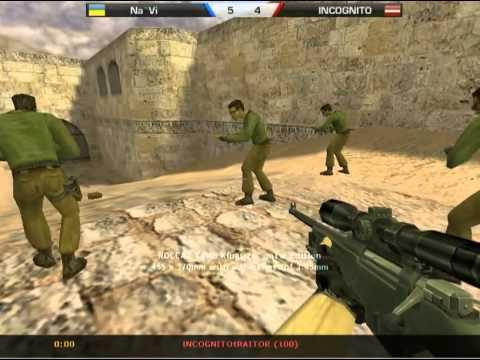 Na`Vi vs. INCOGNITO de_dust2 17.12.2010