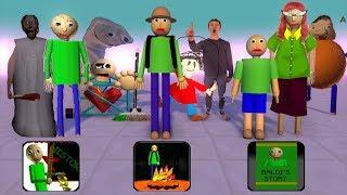 Monster School : All Baldi's episode - Minecraft Animation