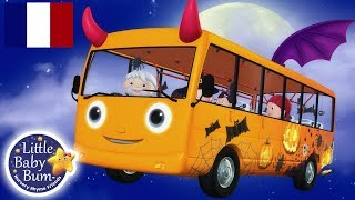 Les Roues de l'Autobus spécial Halloween | Little Baby Bum en Français | Comptines Pour Bébé