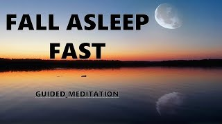 Fall Asleep Fast Guided meditation, Deep relaxation Hypnosis for sleep