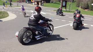 Harley Davidson Breakout Friends Rideout 10.04.16