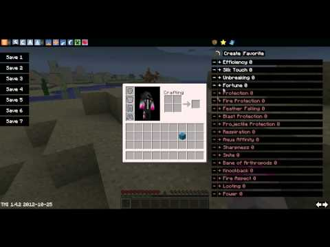 Minecraft mody 1.5: Too Many items - Zcheatuj sobie itemy !
