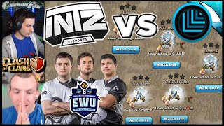 Was INTZ Defeated? Clans Battling it Out in the EWU Semifinals | Clash of Clans
