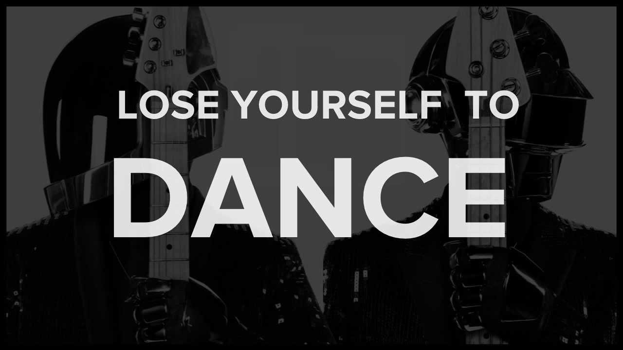 lose yourself to dance pdf