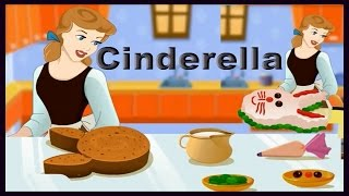 Play & Learn Cinderella Cooking Bunny Cake Game Video-Sweet Fairy Tale Games Online