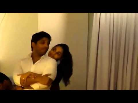 Unseen Video Of Allu Arjun With His Wife Sneha Reddy video