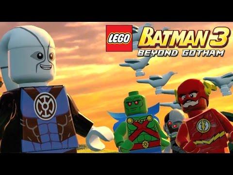 Lego Batman 3 Details - Odym, Beastboy & DC Heroes Galore