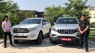 Mahindra Alturas G4 Vs Ford Endavour | Alturas G4 Vs Endavour Test Drive | Crazy4cars