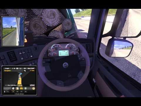 Euro Truck Simulator 2 review / tutorial for beginners.