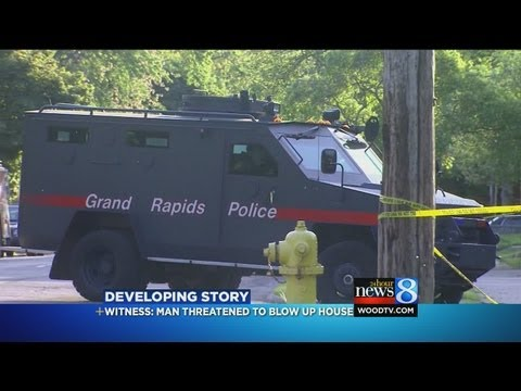Giddings standoff over; suspect arrested
