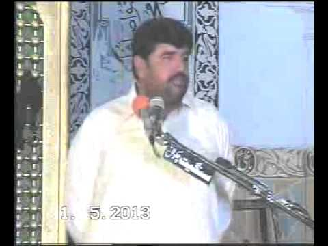 Zakir Aamir  Abbas Rabani 1 May 2013 At Qasir Alqaim  Sargodha video