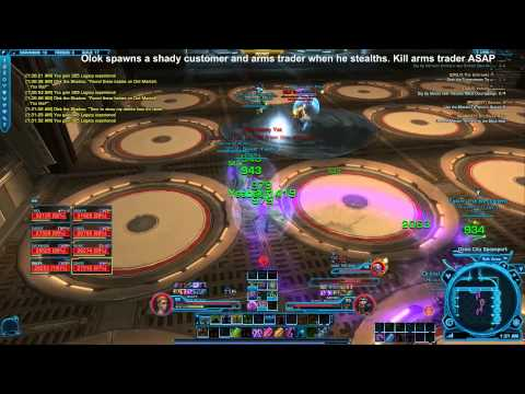 SWTOR Olok the Shadow Hardmode Scum and Villainy (8m)