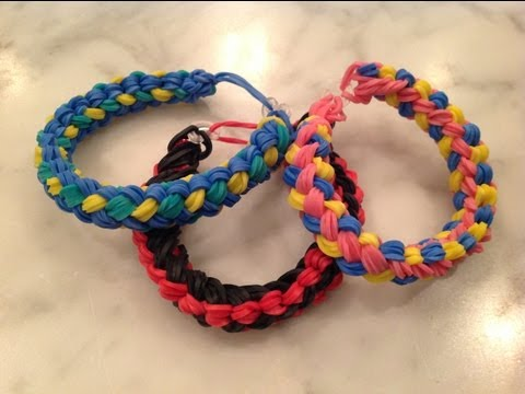 Double Braid Rainbow Loom Bracelet- Advanced