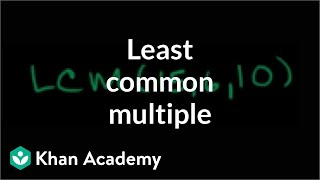 Least common multiple exercise: 3 numbers | Factors and multiples | Pre-Algebra | Khan Academy