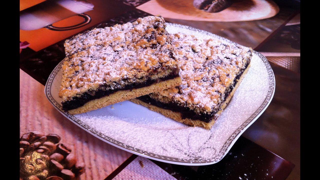 Пошаговый рецепт приготовления пирога с вареньем