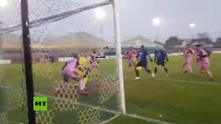 VIRAL ⚽ La ocasión de gol más surrealista de la historia: ¿¡Cómo pudo no entrar!?