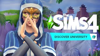 ALL ABOUT THE SECRET SOCIETY 👽 | Sims 4 Discover University Gameplay