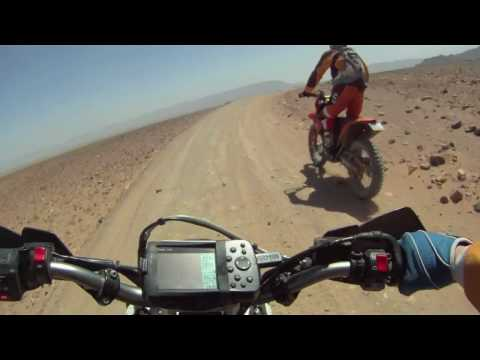 KTM 690 Enduro R Rally Raid Helmet Cam GoPro HD Video